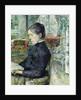 Adele Tapie de Celeyran Countess of Toulouse-Lautrec-Monfa in the Salon of Chateau de Malrome by Henri de Toulouse-Lautrec