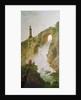 Landscape, The Waterfall by Hubert Robert
