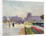Avenue Paul Deroulede, Tuileries, Paris by Jules Ernest Renoux
