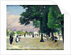 The Tuileries by Jules Ernest Renoux