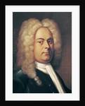 George Frederick Handel by Italian School