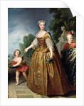 Portrait of Marie Leczinska after 1725 by Francois Stiemart