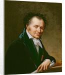 Portrait of Dominique Vivant Baron Denon by Robert Lefevre