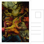 Demons armed with sticks from the Isenheim Altarpiece, c, 1512-16 by Matthias Grunewald