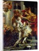 The Medici Cycle: The Coronation of Marie de Medici at St. Denis by Peter Paul Rubens