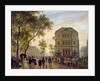 Boulevard Saint-Martin and the Theatre de l'Ambigu by Guiseppe Canella