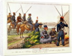 Don Cossacks in 1814 by Austrian School