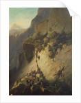 The Taking of Fort Fautuhua, Tahiti by Charles Giraud