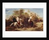 Arab Horsemen by Eugene Fromentin