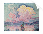 Antibes, the Pink Cloud by Paul Signac