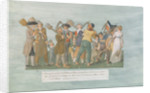 The Parisians going to the Champ de Mars by Lesueur Brothers