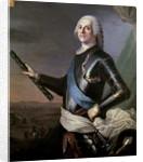 Louis Francois Armand Vignerot du Plessis Duke of Richelieu by French School