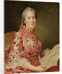 Portrait of Victoire of France by Jean-Marc Nattier