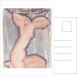 Caryatid by Amedeo Modigliani