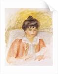 Portrait of Madame Albert Andre by Pierre Auguste Renoir