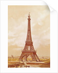 The Eiffel Tower by French School