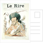 Tz'U-Hsi Empress Dowager of China, front cover of 'Le Rire' by Charles Leandre
