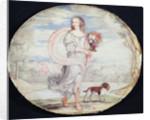 Francoise Louis de la Baume le Blanc Mademoiselle de la Valliere by French School