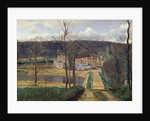 Ville-d'Avray by Jean Baptiste Camille Corot