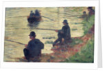 Anglers, Study for 'La Grande Jatte' by Georges Pierre Seurat