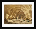 The Wheat Store, Rue de Viarmes, engraved by I. Hill by John Claude Nattes