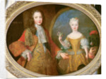 Louis XV and the Infanta of Spain, Maria Ana Victoria by Alexis Simon Belle