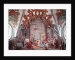 Marriage of Frederick I Barbarossa and Beatrice I of Burgundy in 1156 by Giovanni Battista Tiepolo