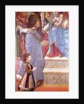 Detail of Ludovico il Moro and his son Massimiliano from the Sforza Altarpiece by Master of the Pala Sforzesca