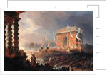Festival of the Fraternity of the Arc de Triomphe, 24th April 1848 by Jean-Jacques Champin