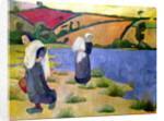 Washerwomen at the Laita River, near Pouldu by Paul Serusier