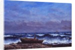 The Stormy Sea or, The Wave by Gustave Courbet