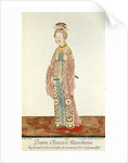 Portrait of a Mandarin Woman of the Second Order Wearing a Summer Ceremonial Costume by Pierre Giffart