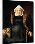 Portrait of an Elderly Woman or, The Falconer's Wife by Frans Floris