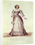 Madame Moliere, nee Armande Bejart in the role of Elmire in 'Le Tartuffe' by Moliere by Hippolyte Lecomte