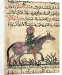 Horse and rider by Islamic School