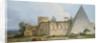 Tomb of Gaius Cestius, Rome by Jean Jacques Francois Le Barbier