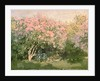 Lilac in the Sun by Claude Monet
