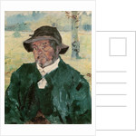 An Old Man, Celeyran by Henri de Toulouse-Lautrec