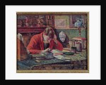 Emile Verhaeren in his Study by Maximilien Luce