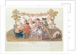 A Republican Meal, Messidor, Year II by Lesueur Brothers