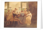 The Card Game by Henri Bonaventure Monnier