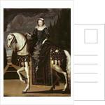 Equestrian Portrait of Marie de Medici by French School