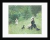 In a Park by Berthe Morisot