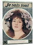 Sarah Bernhardt in Gismonda by Victorien Sardou by Theobald Chartran