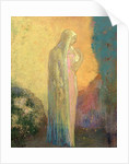 Standing Veiled Woman by Odilon Redon