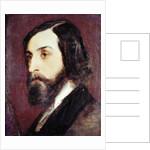 Portrait of Alfred de Musset by Louis Picard