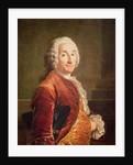 Louis Francois Armand de Vignerot du Plessis Duke of Richelieu by Louis M. Tocque