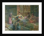 Interior of a Harem by Leon-Auguste-Adolphe Belly