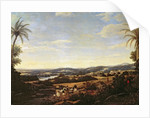 Brazilian Landscape with a Plantation by Frans Jansz Post