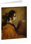 Portrait presumed to be Juana Pacheco as a Sibyl by Diego Rodriguez de Silva y Velazquez